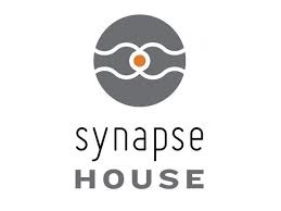 gray circle with text Synapse House