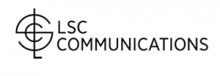 round symbol followed by LSC COMMUNICATIONS